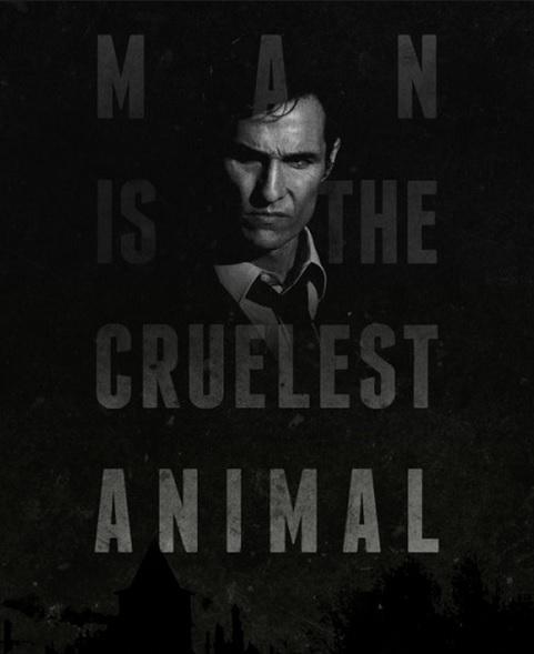true detective man is the cruelest animal